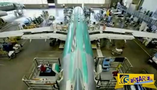 Η κατασκευή ενός Boeing 737, από την Πρώτη Βίδα μέχρι την Απογείωση! Ένα time lapse βίντεο που θα σας συναρπάσει…