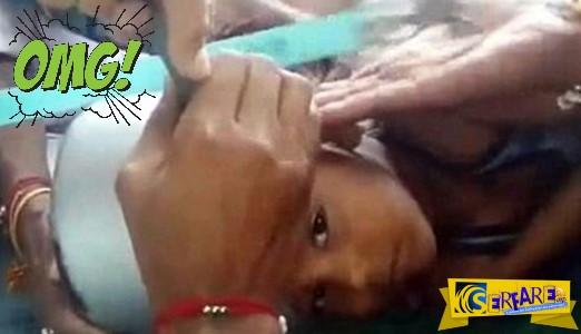 Απίστευτο! Ανήλικος «σφήνωσε» με το κεφάλι σε χύτρα!