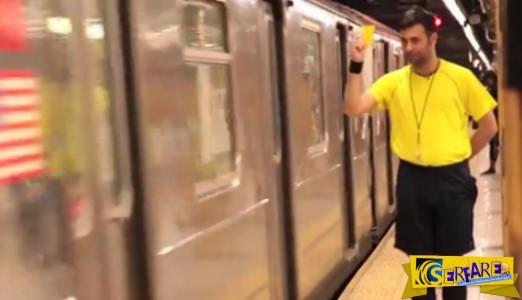 Ένας διαιτητής στους δρόμους της Νέας Υόρκης - Μοίρασε κίτρινες και κόκκινες κάρτες για τους πιο απίθανους λόγους