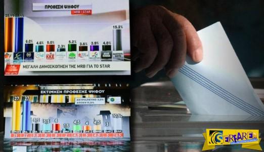 Ανατροπή με τέσσερις νέες δημοσκοπήσεις: Τι κάνουν ΝΔ-ΣΥΡΙΖΑ, ποιος στην 3η θέση