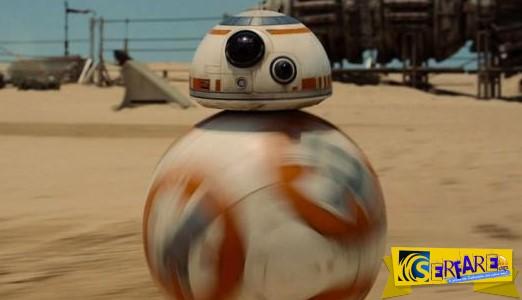 Droid BB-8: Το νέο ρομποτάκι του «Star Wars» κλέβει καρδιές!