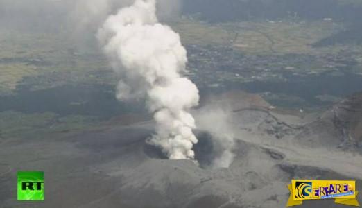 Δείτε βίντεο από την εντυπωσιακή έκρηξη ηφαιστείου στην Ιαπωνία ...
