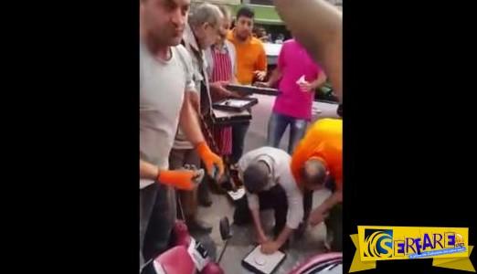 Συναδελφική αλληλεγγύη. Καταστηματάρχες επιτέθηκαν σε ληστές διπλανού μαγαζιού
