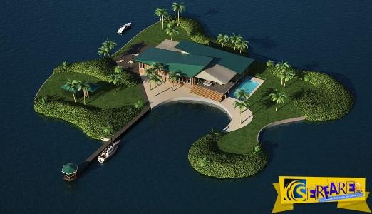 Τα μεταφερόμενα νησιά είναι τα νέα παιχνίδια των rich & famous!