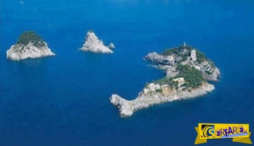 Το νησί δελφίνι! Ο τοπικός μύθος λέει πως εκεί ο Οδυσσέας αντιμετώπισε τις σειρήνες!