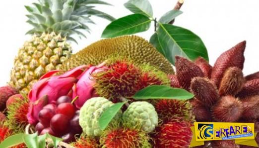 Αυτά είναι τα πιο παράξενα φρούτα του πλανήτη!