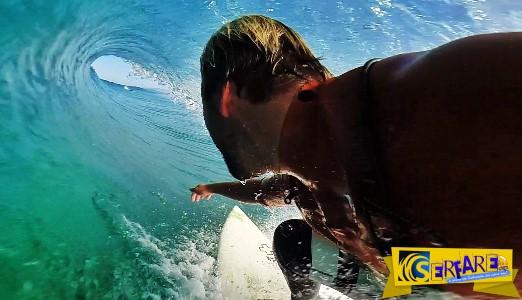 Δεν έχεις ξαναδεί surfing σαν κι αυτό! Χαλάρωσε και απόλαυσε το βίντεο της χρονιάς.
