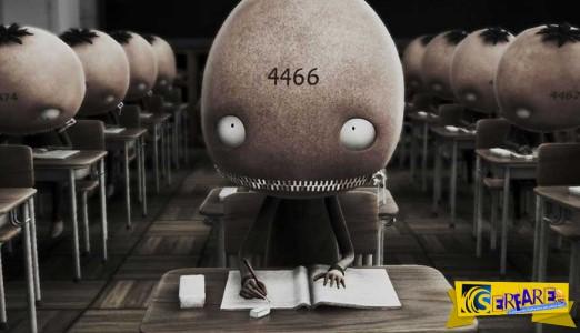Tαινία κινουμένων σχεδίων για την πίεση που δέχονται τα παιδιά στο σχολείο