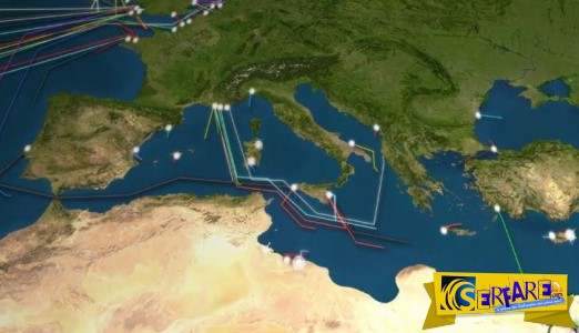 Δείτε σε βίντεο το υποθαλάσσιο δίκτυο 885.000 χιλιομέτρων που τροφοδοτεί με ίντερνετ όλο τον πλανήτη!