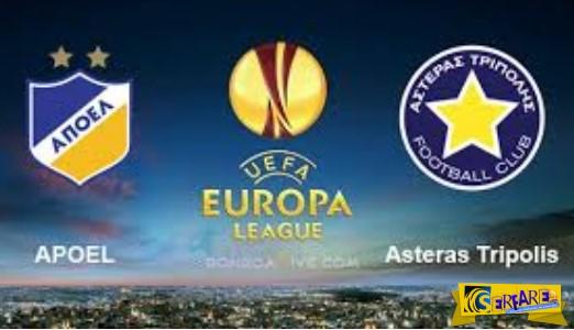 APOEL - Asteras Tripolis Live Streaming