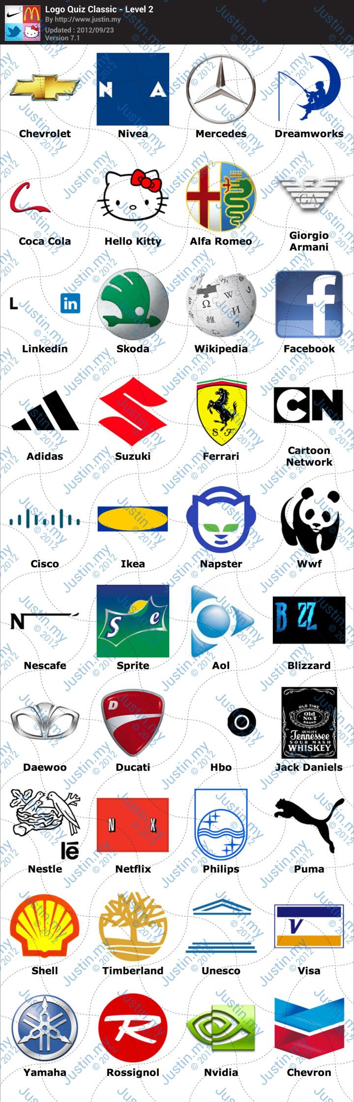 Logo-Quiz-Classic-Level-2