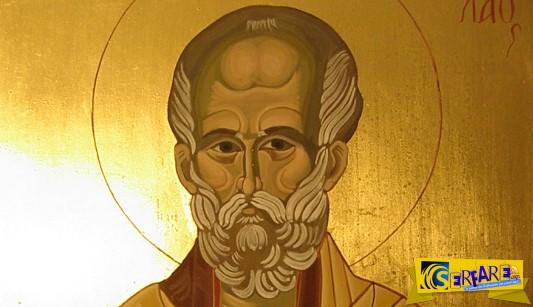 Απίστευτο θαύμα: Πού εμφανίστηκε το πρόσωπο του Αγίου Νικολάου