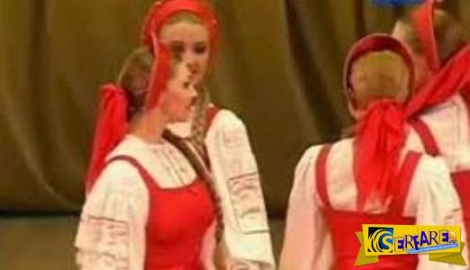 Μοναδικό θέαμα: Ο παραδοσιακός χορός με τις... αιωρούμενες Ρωσίδες