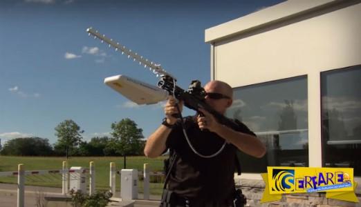 Έφτιαξαν το πρώτο Αντι-Drone όπλο που χρησιμοποιεί στοχευμένα ραδιοκύματα!