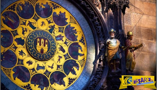Eξι αιώνες Αστρονομικό Ρολόι της Πράγας!