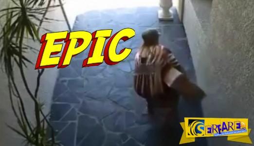 Είναι αυτή η χειρότερη κλέφτης όλων των εποχών; Ξεκαρδιστικό βίντεο!