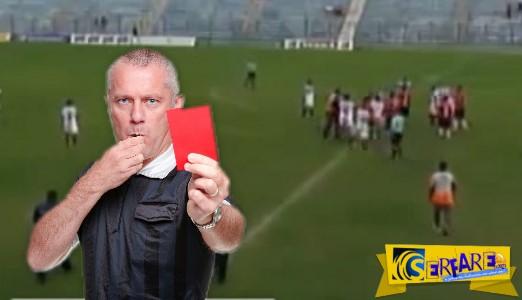 Βραζιλία: Διαιτητής έδειξε έντεκα κόκκινες