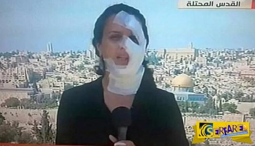 Γυναίκα ρεπόρτερ τραυματίστηκε on air από χειροβομβίδα!