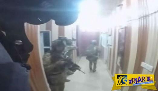 Η στιγμή που οι ειδικές δυνάμεις των ΗΠΑ εισβάλουν σε οχυρό του ISIS