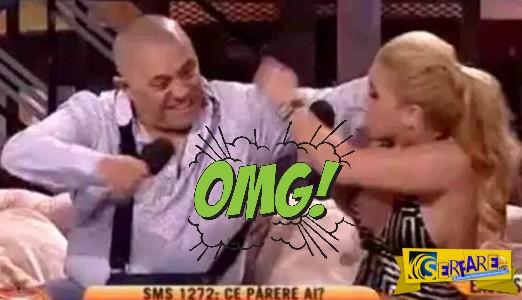 Έδειρε σε τηλεοπτική εκπομπή τη γυναίκα του επειδή τον απάτησε με τον γιο του!