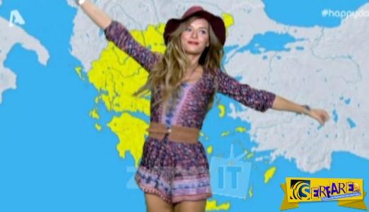 Η Ελένη Τσολάκη έφερε πάλι το καλοκαίρι με το καuτό της σορτσάκι!