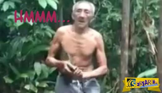 Ηλικιωμένος σκαρφαλώνει σε δέντρο με εντυπωσιακό κόλπο… και κατεβαίνει με σοκαριστικό!