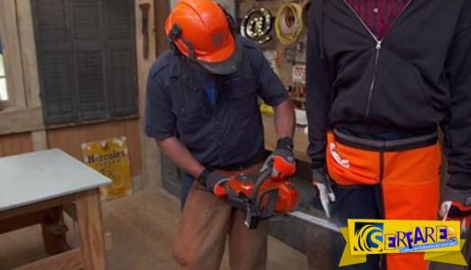 Πως λειτουργεί το προστατευτικό παντελόνι για αλυσοπρίονο!
