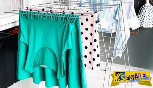 Γιατί δεν πρέπει να στεγνώνετε ποτέ τα ρούχα μέσα στο σπίτι