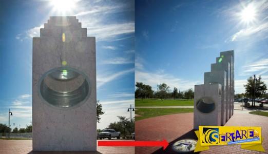 Κάθε χρόνο την 11/11 στις 11:11 π.μ. ο ήλιος διαπερνά αυτό το μνημείο και αποκαλύπτει κάτι μοναδικό!