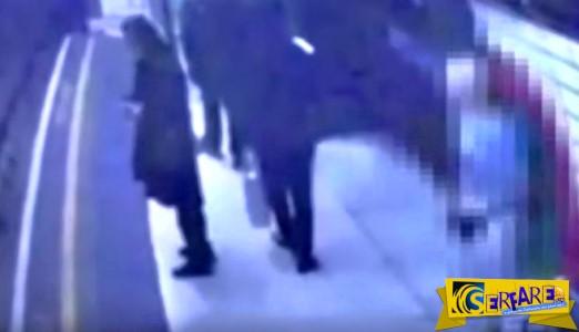 Ο κόσμος τρελάθηκε: Άνδρας ρίχνει γυναίκα στις ράγες του μετρό!