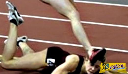 Αυτή η αθλήτρια έπεσε κάτα την διάρκεια του αγώνα τρεξίματος αλλά αυτό που έγινε στην συνέχεια εξέπληξε το κοινό!