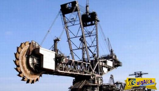 Αυτός είναι ο μεγαλύτερος εκσκαφέας του κόσμου με ιπποδύναμη 22.500 hp!