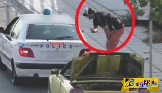 Έμεινε από μπαταρία και φώναξε την αστυνομία που της έκανε μια ξεκαρδιστική φάρσα!
