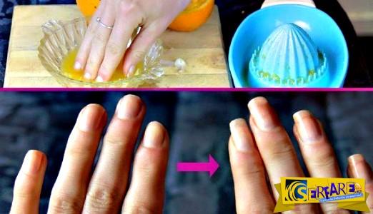 Τι θα γίνει αν βάζετε τα δάχτυλά σας σε αυτό το μείγμα για 2 εβδομάδες
