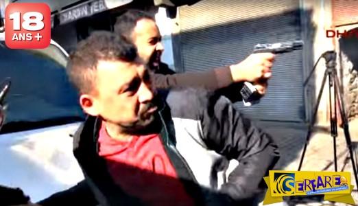 """Σοκαριστική δολοφονία on camera! """"Γάζωσαν"""" τον πρόεδρο του δικηγορικού συλλόγου του Ντιγιάρμπακιρ (+18)"""
