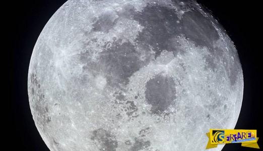 Στοιχεία - ΣΟΚ: Η σελήνη είναι ένα καμουφλαρισμένο διαστημόπλοιο που επιβλέπει τον πλανήτη Γη;