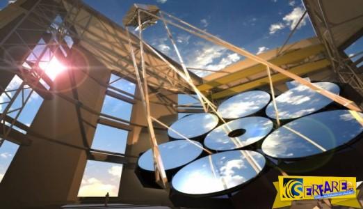 Κατασκευάζεται το Γιγάντιο Τηλεσκόπιο Μαγγελάνος αξίας 1 δισ.$