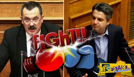 Ροντέο η Βουλή: Απίστευτες εκφράσεις Παππά σε Κωνσταντινόπουλο – «Μ@λ@κ@ άντε και…»