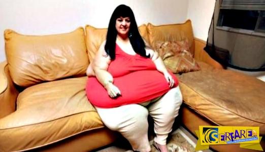 Έχασε 108 κιλά μετά τον χωρισμό με τον φετιχιστή σύντροφό της – Την πίεζε... να τρώει!