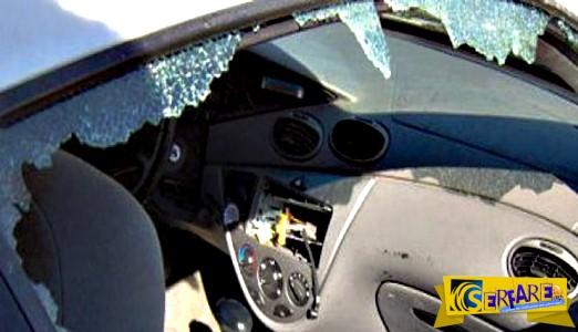 Δείτε πως το αμάξι του έγινε καμπριολέ μετά από... πλύσιμο!