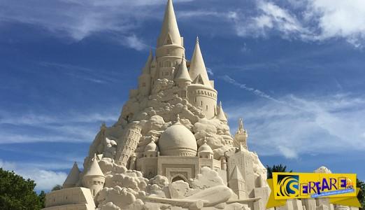 Αυτό είναι το ψηλότερο κάστρο από άμμο στον κόσμο!