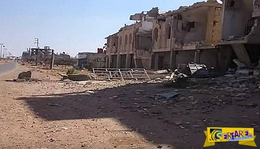 Δείτε μια «ιδέα» του πολέμου στη Συρία – Μια πόλη σωρός ερειπίων!