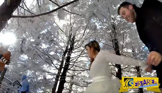 Αυτό το ζευγάρι άφησε τον σκύλο τους να βιντεοσκοπήσει τον γάμο τους - Το αποτέλεσμα; Εκπληκτικό!