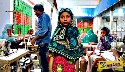 Αυτά τα παιδικά χέρια ράβουν τα ρούχα μας στο Μπαγκλαντές!