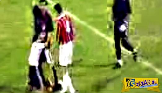 Δαίμονας (;) σέρνει ποδοσφαιριστή μέσα στο γήπεδο! - Δείτε το ανατριχιαστικό βίντεο ...
