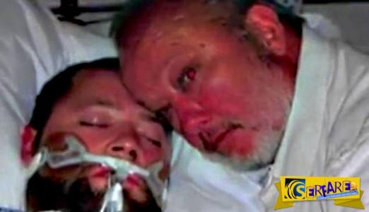 Ανέστησε τον εγκεφαλικά νεκρό γιο του απειλώντας τους γιατρούς... με όπλο!