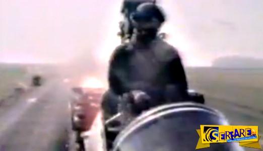 Καρέ - Καρέ η εκτίναξη πιλότου μαχητικού - Εντυπωσιακό ΒΙΝΤΕΟ