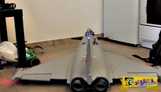 Παιχνίδια για μεγάλα παιδιά! - Τηλεκατευθυνόμενο Eurofighter με κάμερα στο πιλοτήριο!