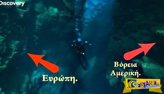 Μοναδικό βίντεο που κόβει την ανάσα και δείχνει πως είναι να κολυμπάς ανάμεσα από δύο ηπείρους!