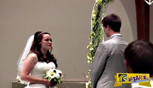 Ενας γάμος με 13 εκατ. κλικ: Νύφη κλέβει την παράσταση!